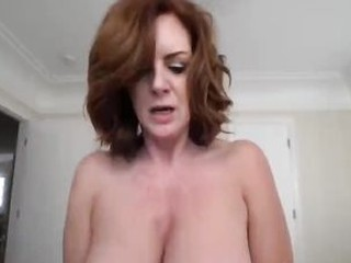 Son Fucks Redhead Stepmother