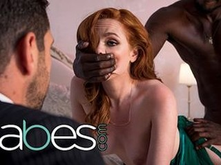 BABES - PAWG redhead Ella Hughes cheats on man with bbc