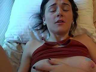 Rosalyn Sphinx got loads of fresh cum inside her soaking wet pussy right after she came