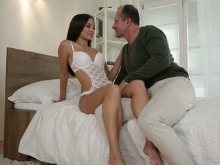 Ukrainian slut Shrima Malati takes part in hardcore gangbang scene