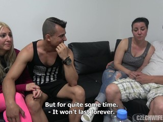 swingers swap wives - ejaculation