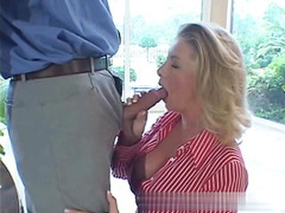 Boss Fuck His New Big Tits Maid