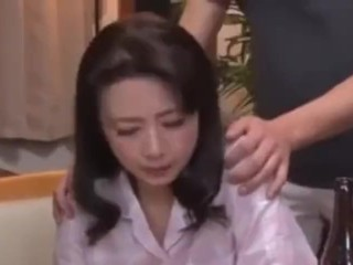 Japanese mom compelled to have sex with young man