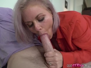 beautiful milf uses stepson for sexual release