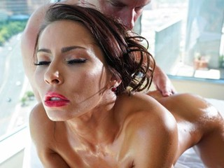 Godlike mademoiselle with big boobs Madison Ivy needs a huge cock