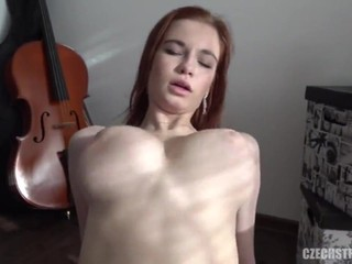 18 year old virtuoso with DDD tits