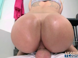 Stevie Shae gets her perfect ass plowed hard