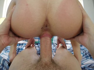 POV reverse ride on step brother's hammer by Mackenzie Mace