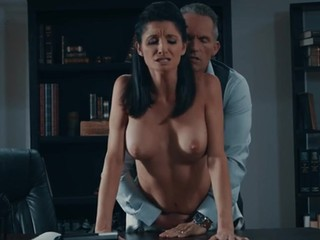 Sweet chick Silvia Saige gets surprised with a long delicious dick