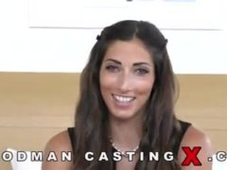 French hottie assfucked during casting