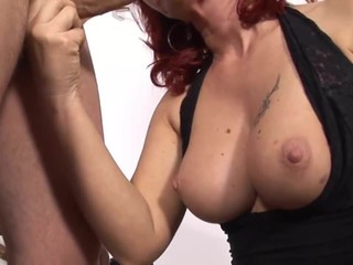 Sexy mom fucked in pussy and ass