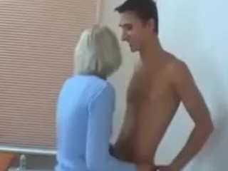 Perfect Blonde Russian Cougar Porn Real Fucks Young Guy