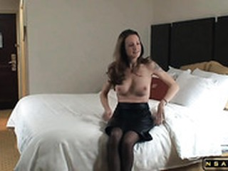 Ravishing Horny American Blonde Wife In