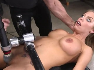 THE TRAINING OF O BRITNEY AMBER (ANAL, BDSM) - TIED UP AND TORTURED