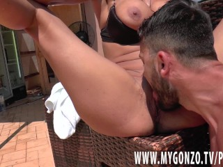 German MILF Lana Vegas Gets Busted By Her Young Lover Stefan Steel
