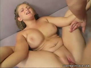 Lusty and chubby girl  Madison James acts so sensual