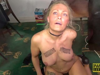 Submissive sexy MILF gets the roughest fuck in her life