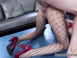 Endless sodomy for submissive High Class brunette