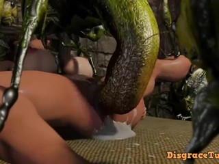 [3D-hentai] Insect Huntress Saki - Hell of Lewd Insects