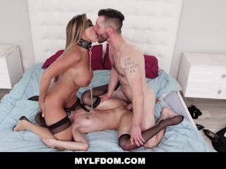 MYLFDom - Milf and Teen Get Rough Fucking