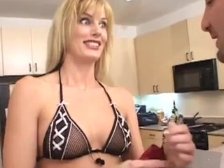 Blonde lady wants an anal creampie
