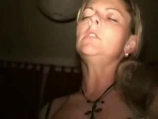 Wife fucking with stranger in swinger club feature 2