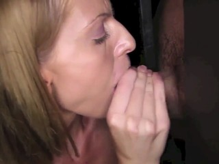 Horny MILF Loves Swallowing Cum