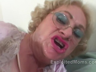 Granny is a Crazy Dirty Slut