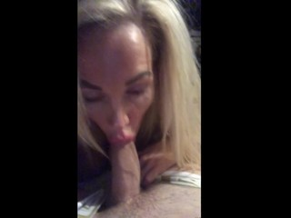 Busty stepmom sneaks in to my room to milk my cock