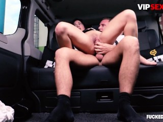 FuckedInTraffic - Voluptuous Czech Teen Seduced And Fucked By Uber Driver